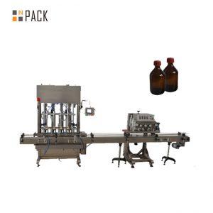 自動紡錘のふたペットペットびんのふたのおおう機械