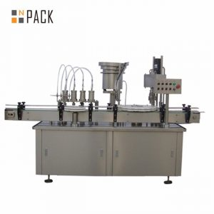自動10ml 15ml 30ml e液体の目薬の点滴器のびんの満ちるおおう機械
